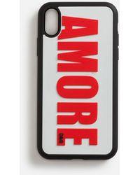 Dolce & Gabbana Funda Iphone Xr De Goma Amore - Rojo