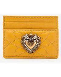 Dolce & Gabbana - Devotion Credit Card Holder - Lyst