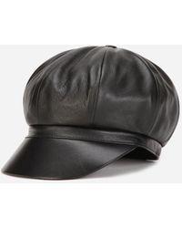 Dolce & Gabbana External Composition: 100% Lambskin Internal Composition: 100% Silk - Black