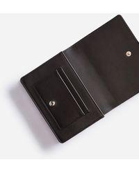 Dolce & Gabbana Large Wallet With Cross-Body Strap In Mini Dollaro Calfskin - Neutro