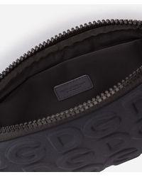 Dolce & Gabbana Neoprene Palermo Tecnico Crossbody Bag With All-Over Dg Detailing - Schwarz