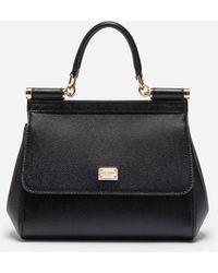 Dolce & Gabbana Sicily Pm Bag - Black