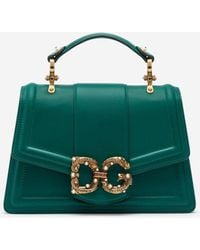 Dolce & Gabbana Leather Amore Bag - Multicolor