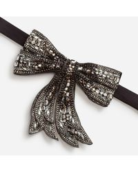 Dolce & Gabbana - Rhinestone Bow Tie - Lyst