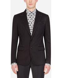 Dolce & Gabbana Stretch Jersey Jacket - Noir