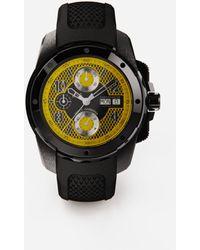 Dolce & Gabbana Uhr Ds5 Aus Stahl Pvd - Schwarz