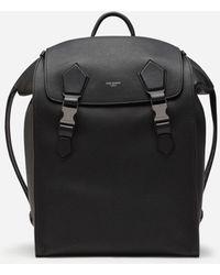 Dolce & Gabbana Edge Backpack In Calfskin - Black