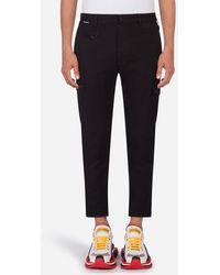 Dolce & Gabbana Cargo Trousers - Black