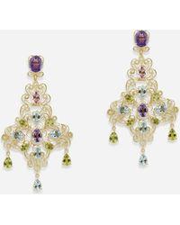 Dolce & Gabbana Pizzo Earrings - Metallic
