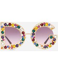 Dolce & Gabbana Gafas De Sol Dg Crystal - Multicolor