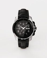 Dolce & Gabbana Reloj Ds5 De Oro Blanco Y Acero Pvd - Negro