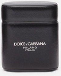 Dolce & Gabbana Funda Para Auriculares De Becerro Gange - Negro