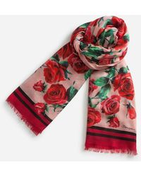 Dolce & Gabbana - Printed Modal/cashmere Scarf 135 X 200 Cm – 53 X 78.7 Inches - Lyst
