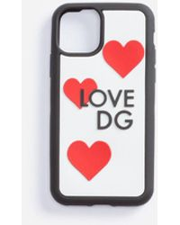 Dolce & Gabbana Love Dg Iphone Xi Pro Hülle Aus Gummi - Mehrfarbig