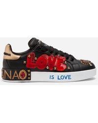 Dolce & Gabbana Zapatillas bajas - Negro