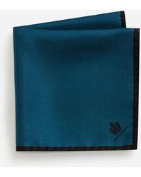 Dolce & Gabbana Pochette In Seta - Blu