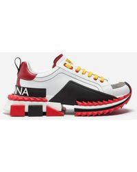 Dolce & Gabbana Multi-Colored Super King Sneakers - Multicolor