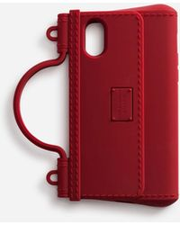 Dolce & Gabbana Rubber Iphone X-xs Cover - Red