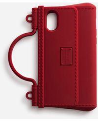 Dolce & Gabbana Funda Iphone X-Xs De Goma - Rojo