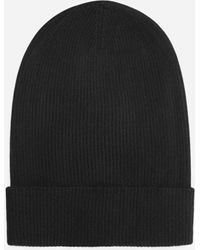 Dolce & Gabbana Silk And Cashmere Hat - Schwarz