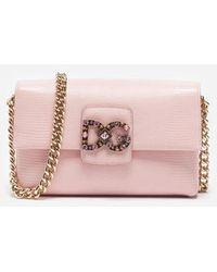 Dolce & Gabbana - Dg Millennials Bag In Leather - Lyst