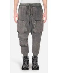 Dolce & Gabbana Corduroy Cargo Pants - Grigio