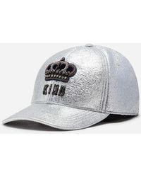 Dolce & Gabbana - Gorra De Béisbol De Algodón Con Parche - Lyst