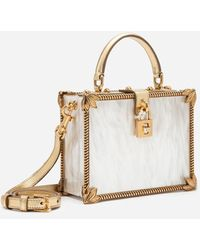 Dolce & Gabbana Mother-of-pearl Dolce Box Bag - Multicolour