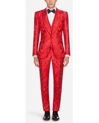 Dolce & Gabbana - Sicilia Jacquard Suit - Lyst