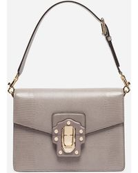 Dolce   Gabbana - Leather Lucia Shoulder Bag - Lyst aac04a6b8ff32