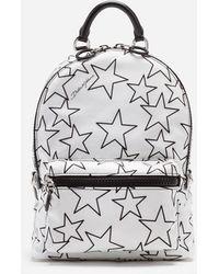 Dolce & Gabbana Mixed Star Print Nylon Vulcano Backpack - Multicolor
