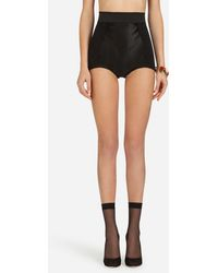 Dolce & Gabbana Corset-Style Culotte - Negro