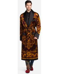 Dolce Gabbana Dressing Gowns And Robes For Men Lyst Com
