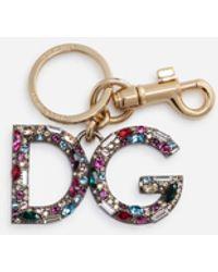 Dolce & Gabbana Multi-colored Dg Keychain - Multicolour