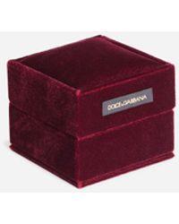 Dolce & Gabbana Good Luck Cufflinks In Yellow Gold - Metallizzato