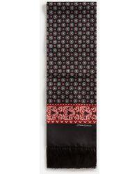Dolce & Gabbana Écharpe En Soie À Imprimé Bandana - Multicolore