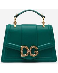 Dolce & Gabbana Leather Amore Bag - Multicolour