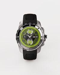 Dolce & Gabbana Ds5 Watch In Steel - Black
