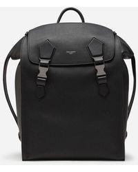 Dolce & Gabbana Edge Backpack In Calfskin - Schwarz