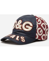 Dolce & Gabbana Hat With Patch - Blue