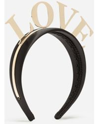 Dolce & Gabbana - Hairband With Love Lettering - Lyst
