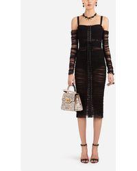 Dolce & Gabbana Tulle Dress - Noir