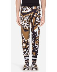 Dolce & Gabbana Jogginghose Aus Jersey Mit Millennials Star-Print - Mehrfarbig