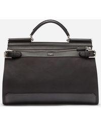 Dolce & Gabbana - Nylon Sicily Work Bag - Lyst
