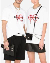Dolce & Gabbana Sfera Ebbasta X Dolce&gabbana T-shirt - White