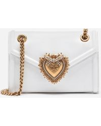 Dolce & Gabbana - Mini Devotion Bag In Smooth Calfskin - Lyst