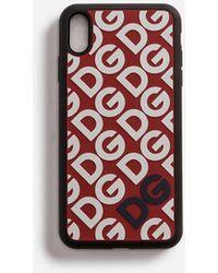 Dolce & Gabbana Rubber Dg Mania Iphone Xs Max Case - Multicolour