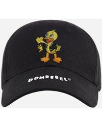 DOMREBEL Lover Cap - Black