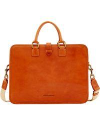 Dooney & Bourke Florentine Brooklyn Briefcase - Natural