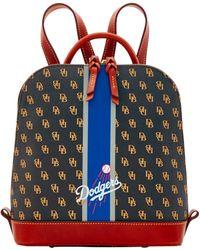 Dooney & Bourke Mlb Dodgers Zip Pod Backpack - Multicolor